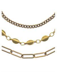 Isabel Marant - Metallic Paris Lovers Layered Necklace - Lyst