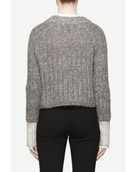 Rag & Bone | Gray Makenna Top | Lyst