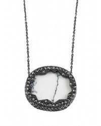 House of Harlow 1960 | Metallic Tanga Coast Pendant Necklace | Lyst
