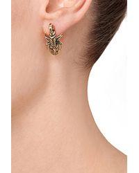 Pamela Love - Metallic Brass Scorpion Stud Earrings - Lyst