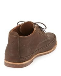 Olukai - Brown Honolulu Matte Leather Lace-Up Boot for Men - Lyst