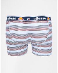 Ellesse - Multicolor 2 Pack Trunks for Men - Lyst
