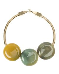 Marni - Multicolor Resin Bead Necklace - Lyst