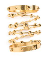 Paula Mendoza - Metallic Ara Wrap Bracelet - Lyst