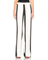 Acne Studios | Black Obel Striped Trousers | Lyst