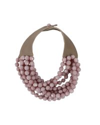Fairchild Baldwin | Pink Bella Beaded Necklace | Lyst