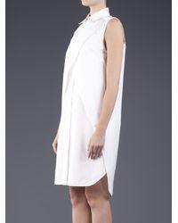Alexander Wang White Double Wrap Dress