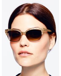 kate spade new york Natural Shira Sunglasses