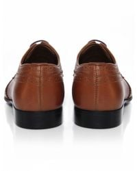 Paul Smith Brown Franz Derby Shoes for men