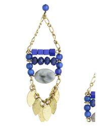 H&M | Blue Long Earrings | Lyst