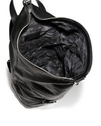 Jimmy Choo Black Fitzroy Backpack for men