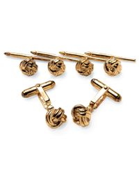Brooks Brothers | Metallic Knot Stud Set for Men | Lyst