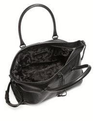 Rebecca Minkoff - Black Moto Leather Zip Tote - Lyst
