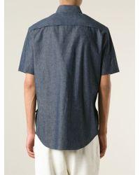 Marni - Blue Denim Shirt for Men - Lyst
