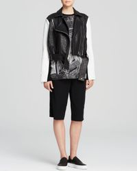Helmut Lang Black Jacket - Forge Leather Biker