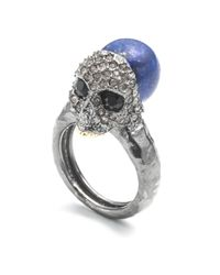 Alexis Bittar - Metallic Encrusted Skull Cocktail Ring You Might Also Like - Lyst