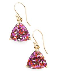 Kate Spade | Pink 'twinkle Lights' Drop Earrings | Lyst