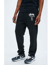 Stussy World Tour Joggers in Black for men