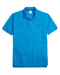Brooks Brothers - Blue Golden Fleece® Original Fit Performance Polo Shirt for Men - Lyst
