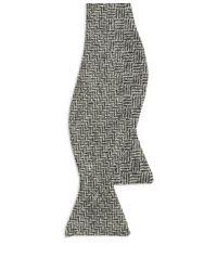 Brooks Brothers - Black Herringbone With Basketweave Reversible Bow Tie for Men - Lyst
