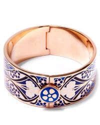 Liberty | Blue Ianthe Multicolour Thick Cuff | Lyst