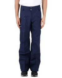 Patagonia - Blue Casual Trouser for Men - Lyst