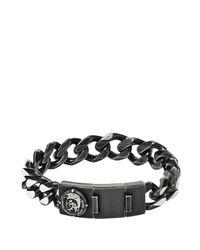 DIESEL | Gray Bracelet Dx0901 for Men | Lyst