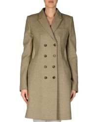 Givenchy | Gray Coat | Lyst