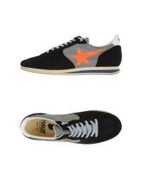 Golden Goose Deluxe Brand - Black Haus Leather Low-Top Sneakers for Men - Lyst