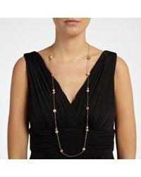 John Lewis | Metallic Long Diamante Necklace | Lyst