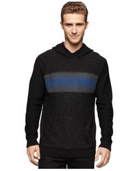 Calvin Klein Jeans - Black Electric Stripe Hoodie for Men - Lyst