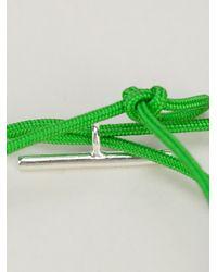 Helena Rohner - Green String Bracelet - Lyst