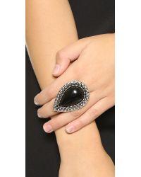 Samantha Wills Bohemian Bardot Ring - Black/Silver