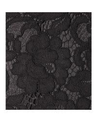 Saint Laurent Black Lace Dress