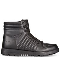 Sean John | Black Madison 2 Bt Hi-top Sneakers for Men | Lyst