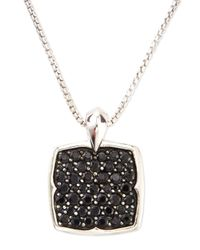 Stephen Webster | Metallic Black Sapphire Pendant Necklace | Lyst