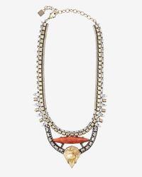 DANNIJO | Red Tessa Necklace | Lyst