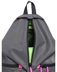 Rebecca Minkoff Gray Julian Sport Nylon Backpack