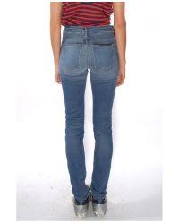 Alexander Wang Blue Medium Indigo Fade Slim Jean
