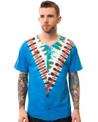 Obey Blue The Kudzu Baseball Jersey for men