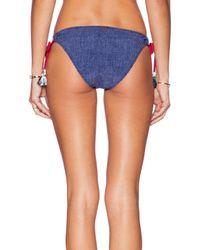 Tigerlily - Blue Patchwork Tara Bikini - Lyst