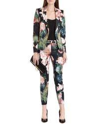 Ted Baker - Black Ohiyo Opulent Bloom Suit Jacket - Lyst