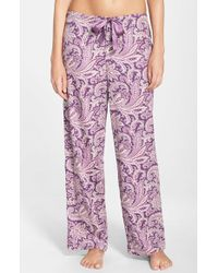 Lauren by Ralph Lauren | Multicolor Print Pajama Pants | Lyst