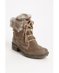 Josef Seibel | Brown Sandra 04 Suede Ankle Boots | Lyst