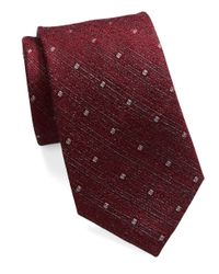 William Rast Purple Diamond Dot Tie for men