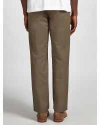 Dockers Green Marina Straight Twill Trousers for men