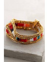 Gas Bijoux | Metallic Maulit Wrap Bracelet | Lyst