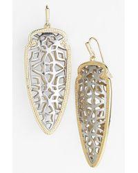 Kendra Scott Metallic 'glam Rocks - Sadie' Drop Earrings