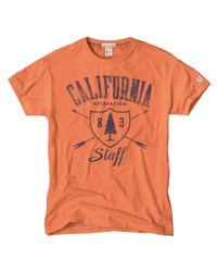 Todd Snyder | Orange California Staff T-shirt for Men | Lyst