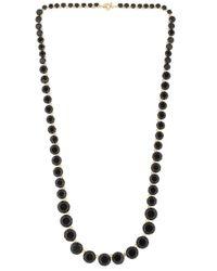 Les Nereides | Black La Diamantine Necklace | Lyst